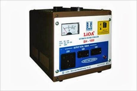 Ổn áp Lioa 1Kva SH 1000