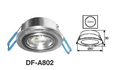 Đèn led âm trần DFA 802