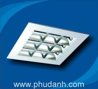 máng đèn âm trần PRFM