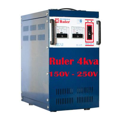 Ổn áp Ruler 4Kva 150V - 250V