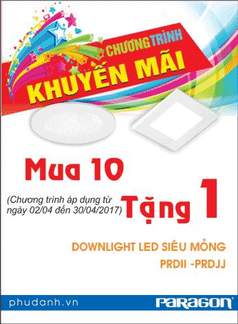 Đèn led mâm tròn và đèn led panel đang được khuyến mãi hấp dẫn