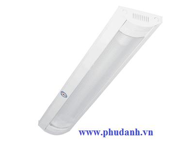 Máng Đèn Lắp Nổi Chóa Nhựa PCFA118L10