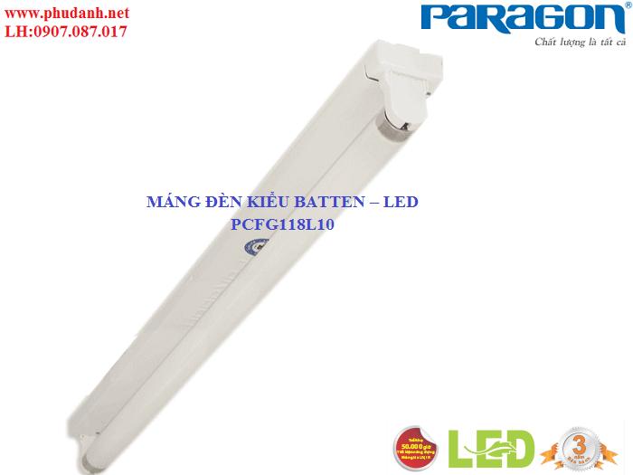Máng Đèn Dân Dụng Paragon PCFG118L10