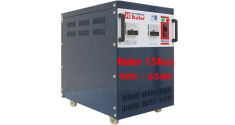 Ổn áp Ruler 15Kva dải điện áp 90V - 250V