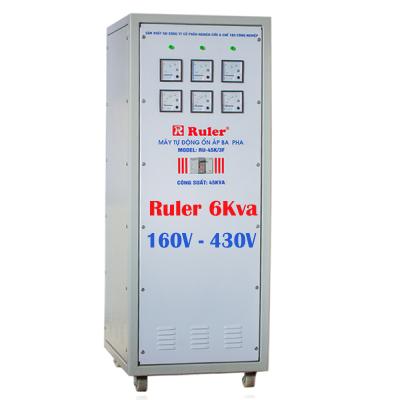 Ổn áp Ruler 3 pha 6Kva dải 160V - 380V