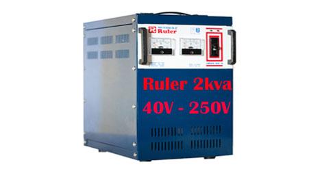 Ổn áp Ruler 3Kva dải điện áp 40V - 250V